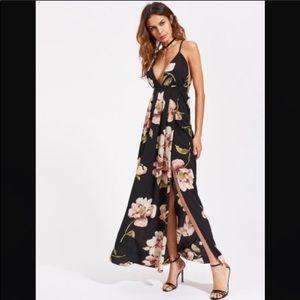 Dresses - 🔥 Sexy Side Slit Spaghetti Strap Maxi Dress, Med